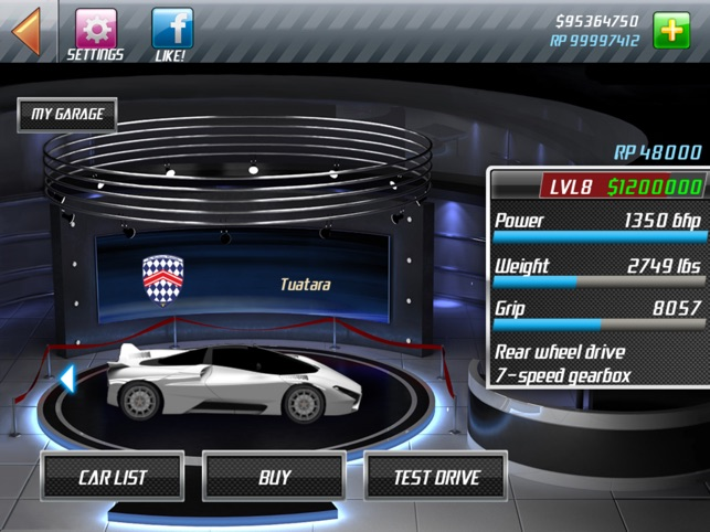 Drag Racing Level 6 Boss