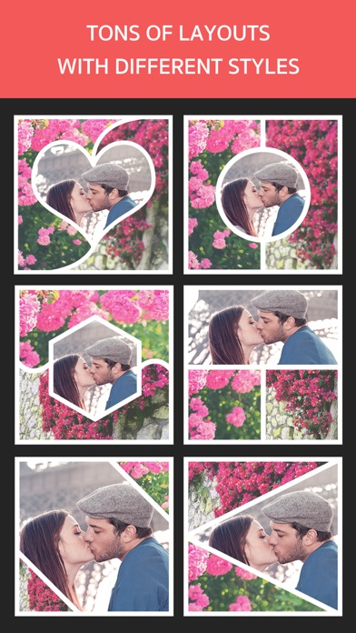 Photo Frame Editor – Pic Collage Maker Freeのおすすめ画像2
