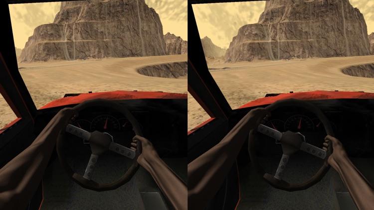VR Car Driving Simulator for Google Cardboard screenshot-3