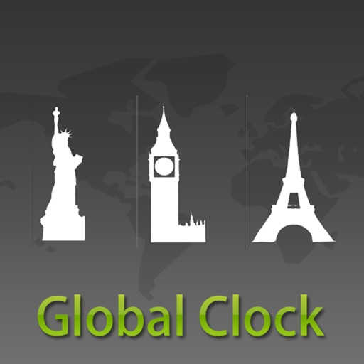 Global Clock for iPad