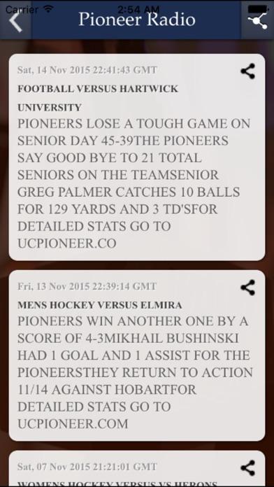 Pioneer Radio Screenshot on iOS