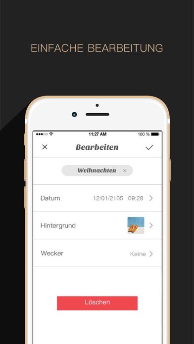 Countdown App Free (Big Day Event Timer Reminder)Screenshot von 4