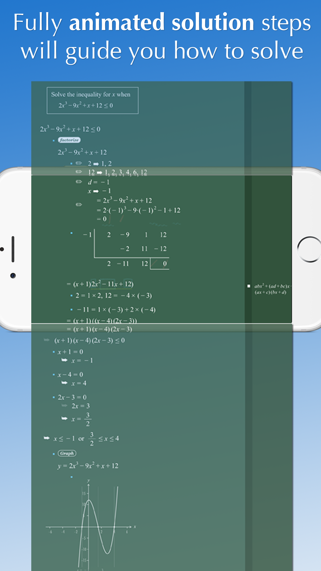 FX Math Solver Screenshot