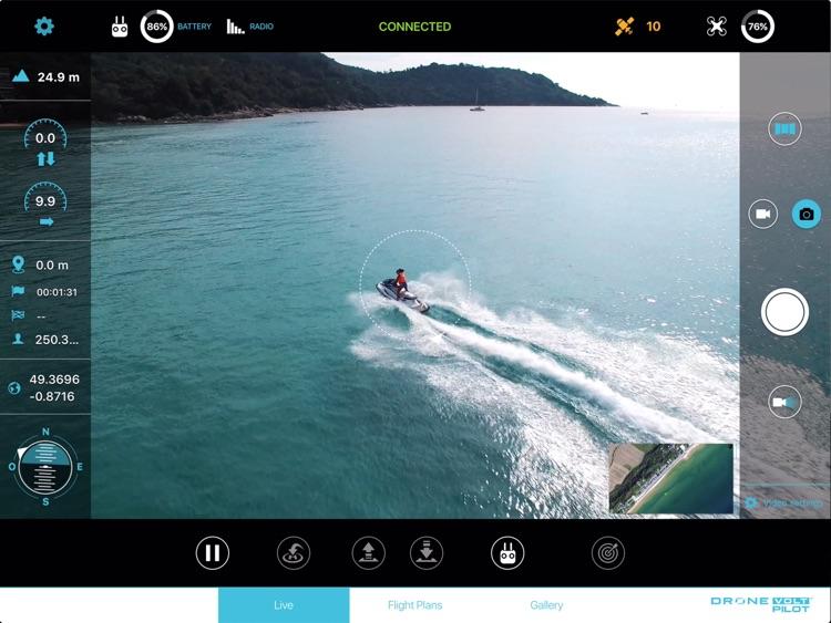 Drone Volt Pilot for DJI Mavic Phantom and Inspire screenshot-0