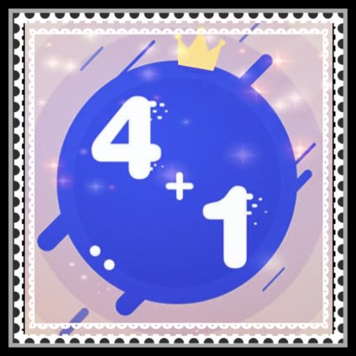 4 + 1!