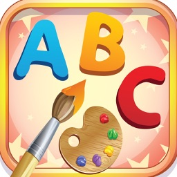 ABC Alphabet Coloring Book: Drawing Painting A-Z Pages with Cute Animal