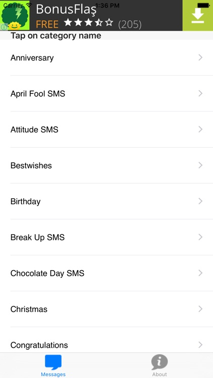 Free SMS Message Templates - Useful for daily SMS by ahmet Baydas