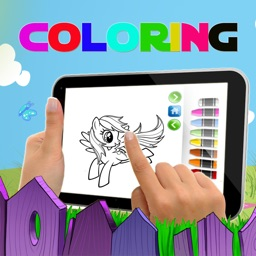 Kids Paint Coloring Game for Filly Butterfly Version