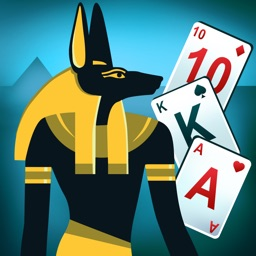 Egypt Solitaire. Match 2 Cards. Card Game