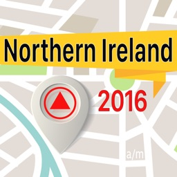 Northern Ireland Offline Map Navigator and Guide