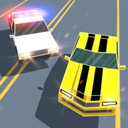 Smashy Car Race 3D: Pixel Cop Chase Full