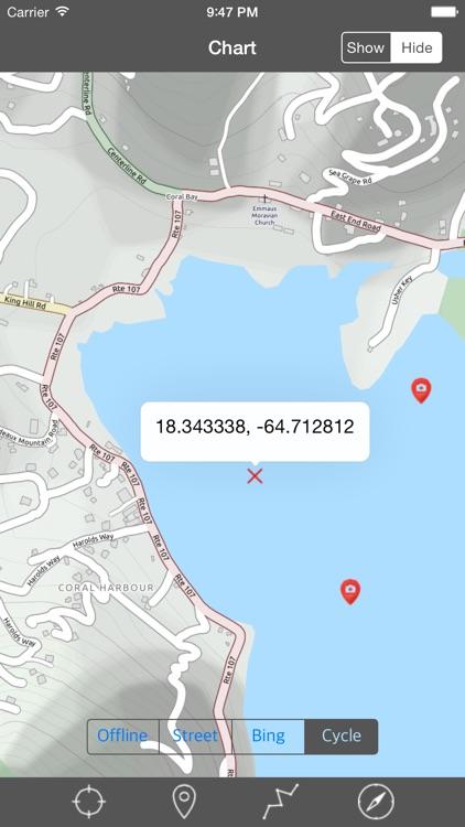 Virgin Islands - Raster Nautical Charts screenshot-3