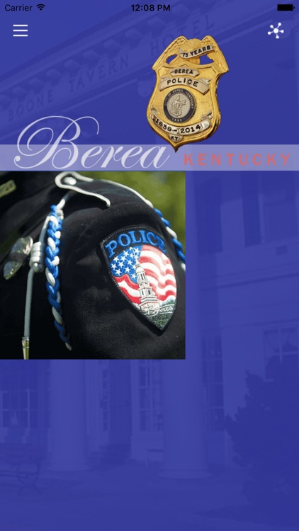 Berea Kentucky Police Department by Mobile Life Solutions,LLC
