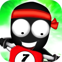 Stickman Downhill - bmx cycle - bike racing game - bike game