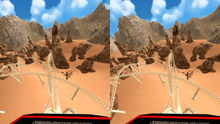 VR Roller Coaster for Google Cardboard screenshot-4