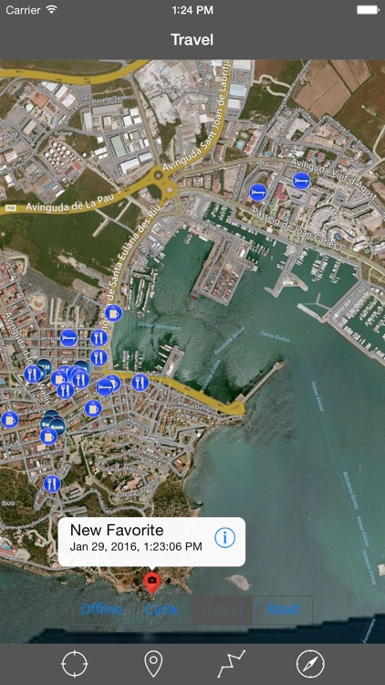 IBIZA – GPS Travel Map Offline Navigator