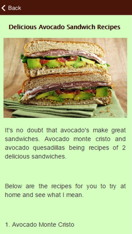 Tasty Avocado Recipes