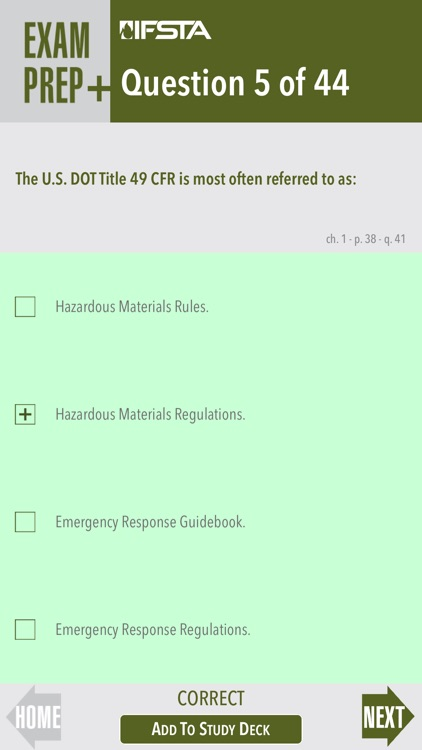 Hazardous Materials for First Responders 4th Edition Exam Prep Plus screenshot-3