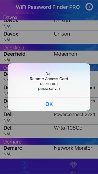WiFi Password Finder PRO by Gianpiero Radano (iOS, United