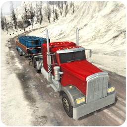 Off-Road Snow Hill Truck 3D - 18 Wheeler Transporter Trailer Simulation