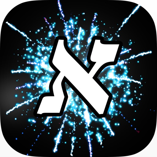 Word Fireworks: Learn Hebrew! icon