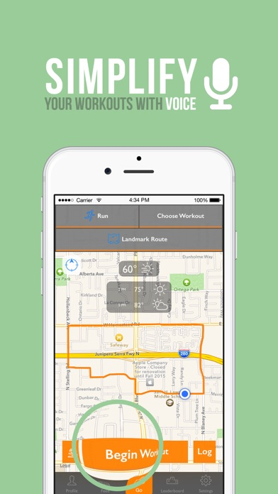 NavRun - Circular Route Builder and GPS Tracker screenshot two