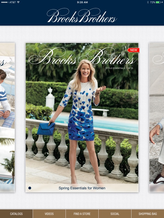 Brooks Brothers iCatalog