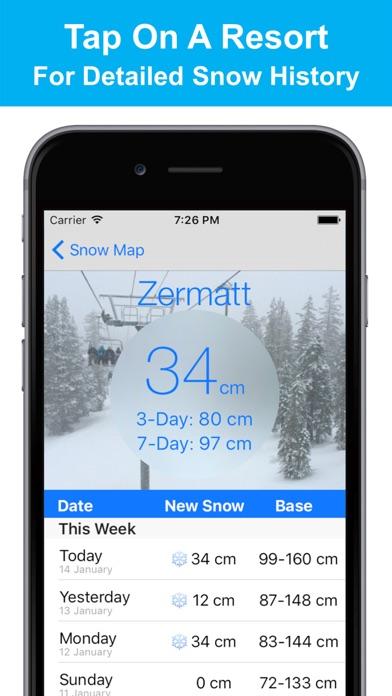 Alps Snow Map - Snow Reportsのおすすめ画像2