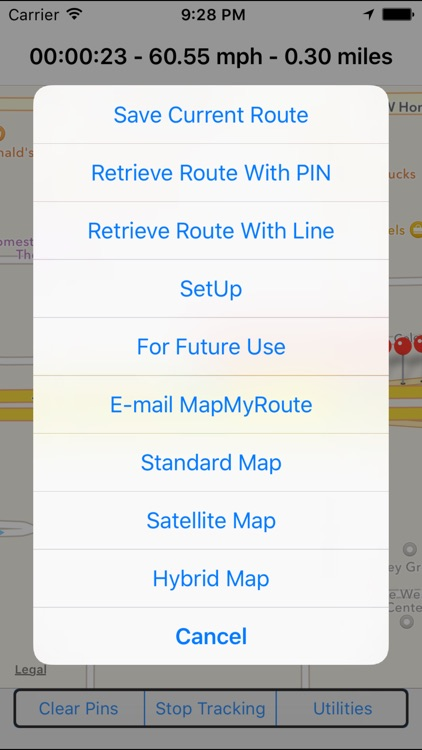 MapMyRoute screenshot-3