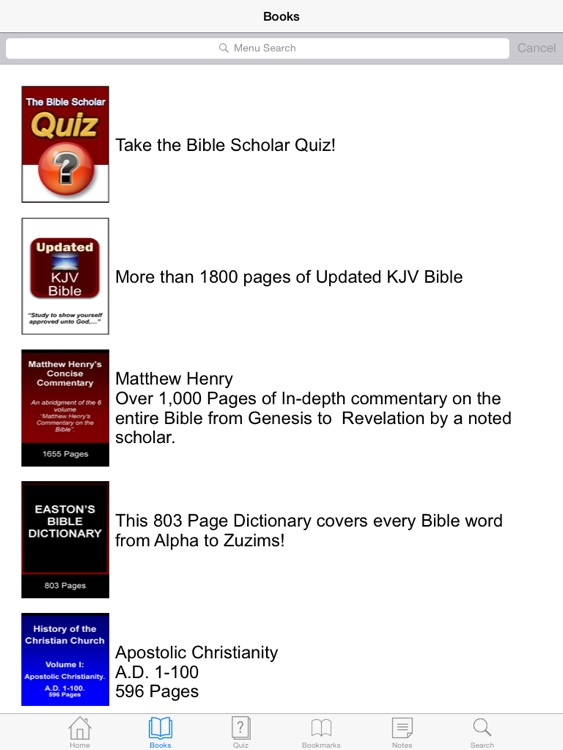 The Bible Scholar Interactive