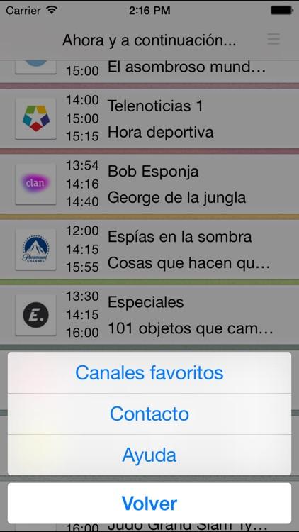 Programación TV - Guía TV España - planTV screenshot-4