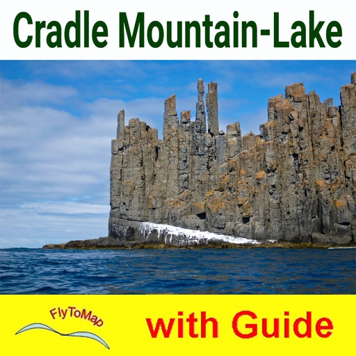 Cradle Mountain-Lake St Clair National Park- GPS and outdoor map with guide