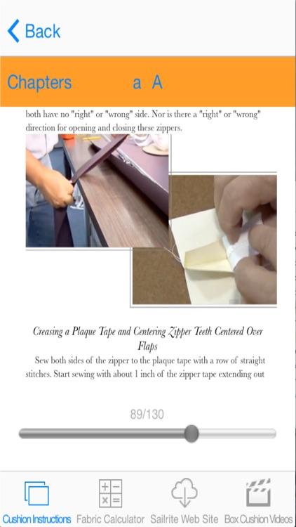 Box Cushion Fabrication Pro