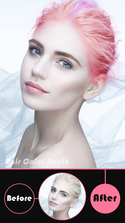 Hair Color Booth Pro - Change Hair Styles to Blonde, Brunette, Brown, Ginger or Any Color screenshot-3