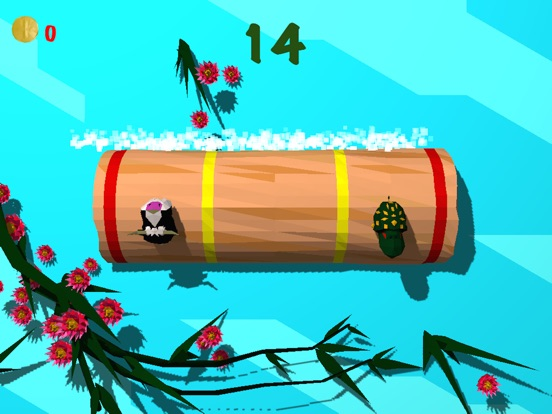 Froggy Log - Endless Arcade Log Rolling Simulator and Lumberjack Game Stay Dry and Dont Fall In The Water!-ipad-3