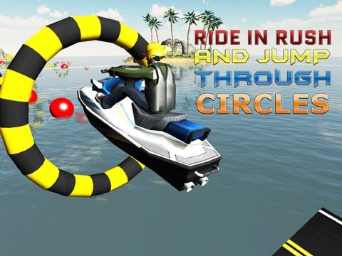 Jet Ski Simulator - Motorboat driving & parking simulation game-ipad-1