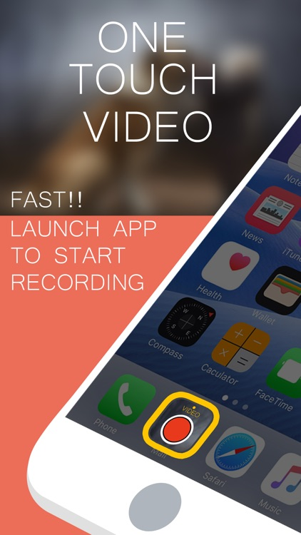 VidEO (One Touch Video Recorder with zoom )