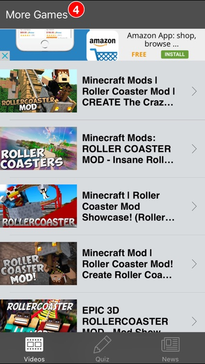 Rollercoaster Rides for Minecraft PC