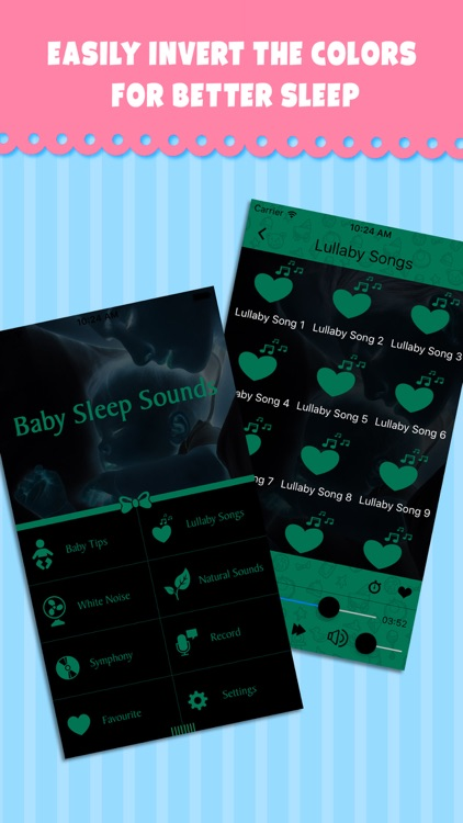 Baby Sleep Sounds - Relaxing music & white noise for calming your baby to sleep