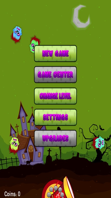 Zombies Drop - Join The Shooter Mania And Make 'Em Disappear Like Stupid Bubbles screenshot one