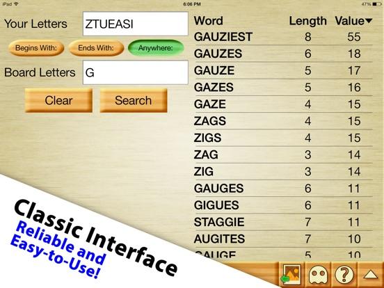 Screenshot #3 for Word Breaker - Cheat for WWF