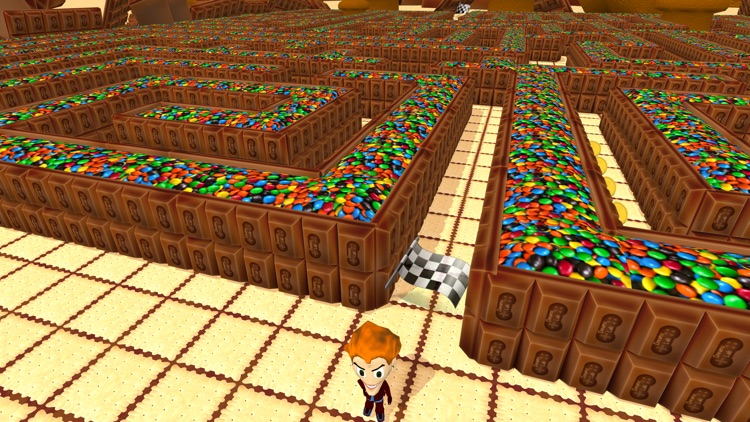 Sweetie Maze 3D - Solve Delicious Labyrinth screenshot-0