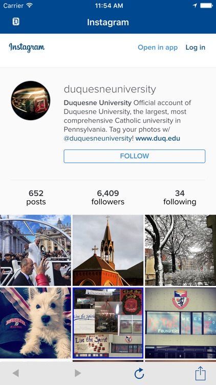 Duquesne U screenshot-4