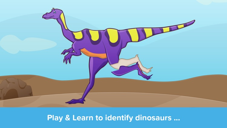 Kids Puzzles - Dinosaurs - Early Learning Dino Shape Puzzles and Educational Games for Preschool Kids Lite