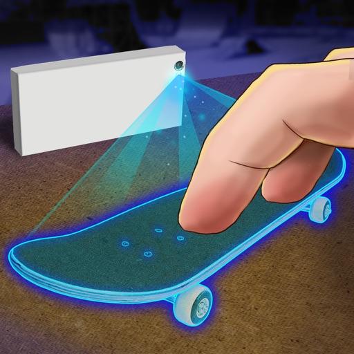 Скейтборд 3D Голограмма Шутка