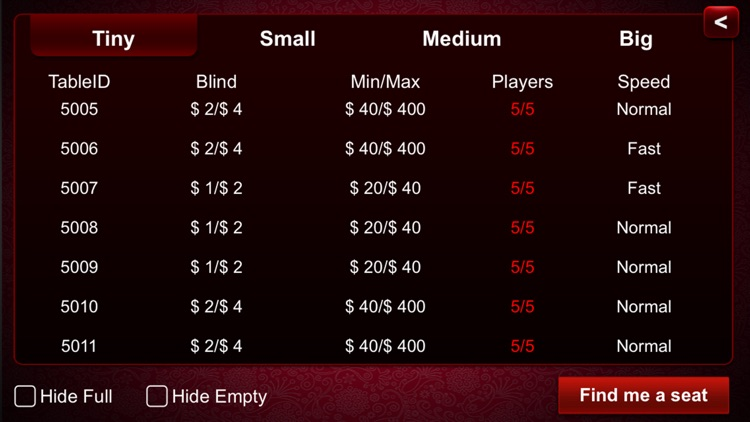 Live Holdem Poker screenshot-4