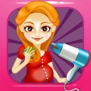 Mommy's Salon Spa Makeover – little nail & make-up hair games for kids!