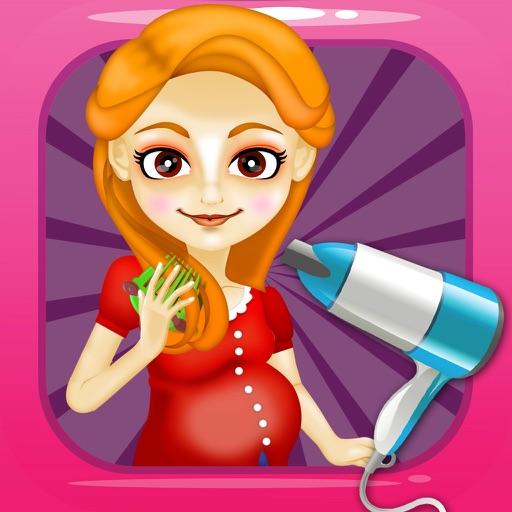Mommy's Salon Spa Makeover - little nail & make-up hair games for kids!