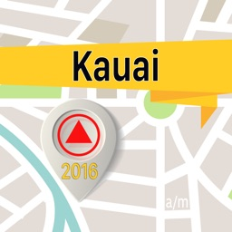 Kauai Offline Map Navigator and Guide
