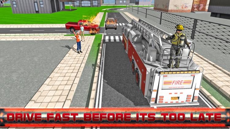 Fire Fighter Emergency Truck Simulator 3D
